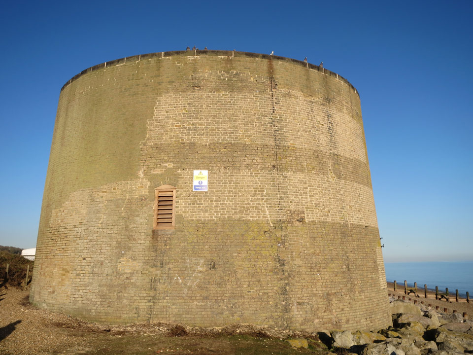 Martello Tower 14 photo Paul Devall