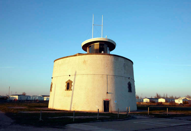 Martello Tower C photo Ian Giles