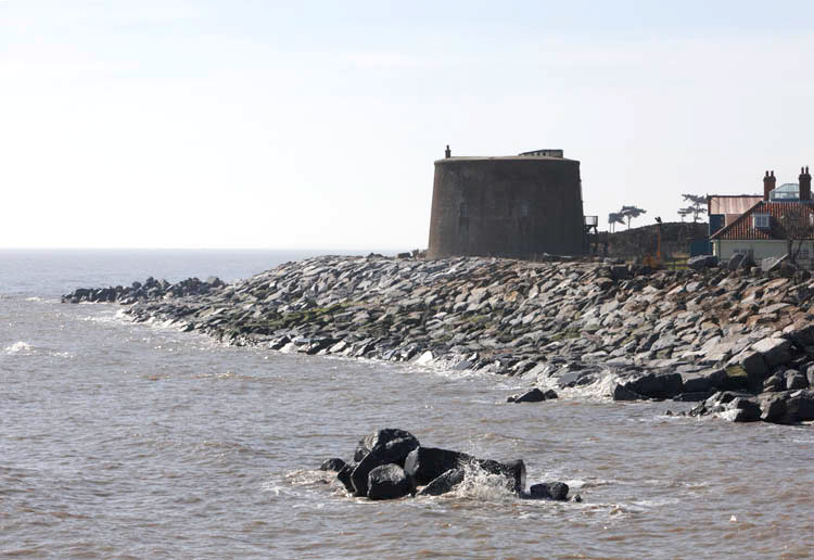 Martello Tower W photo Ian Giles