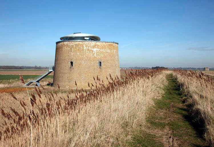 Martello Tower Y photo Ian Giles