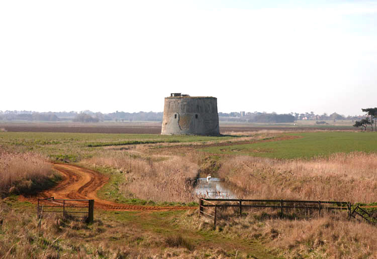 Martello Tower Z photo Ian Giles