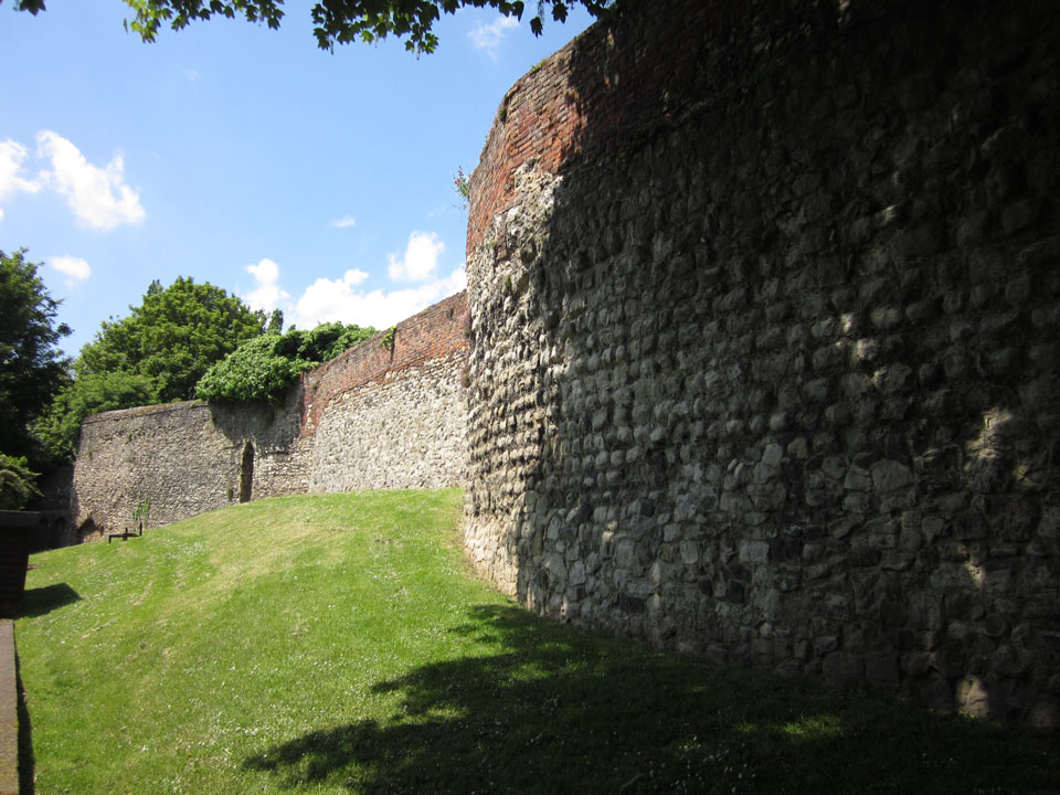 City wall  photo Charles Taylor