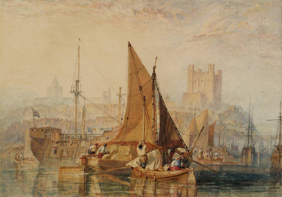 Rochester Castle 1822 © Tate, London