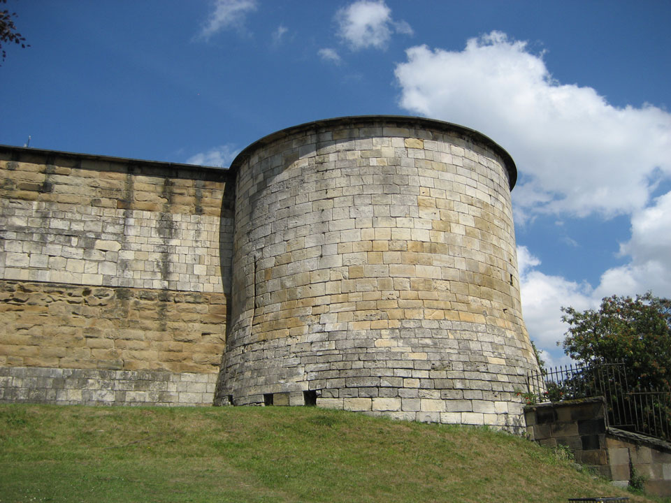 York Castle south tower photo Charles Taylor